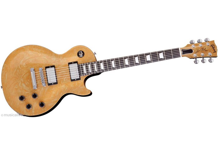 gibson les paul studio electric guitar ebony gold № 277253